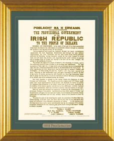 Framed Proclamation