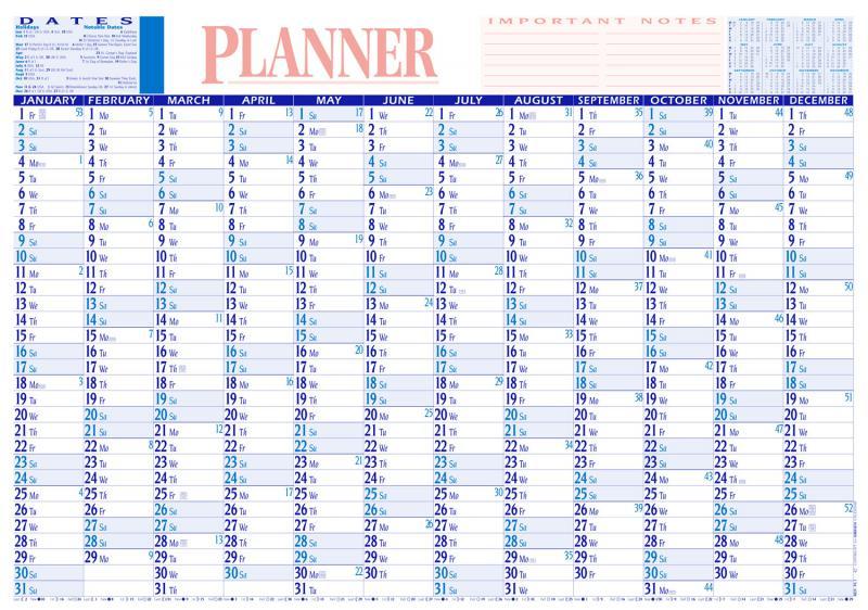 Large Calendar Planner : Calendars planners